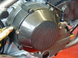 Carbon clutch cover carbon (for all models with dry clutch)
