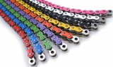 chain colored 520 106T with rivet lock or bolt lock