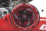 clutch cover Window  clear glass CNC Panigale V4/V4S