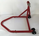 Paddock stand rear red low price  for single swingarm models D. 26mm